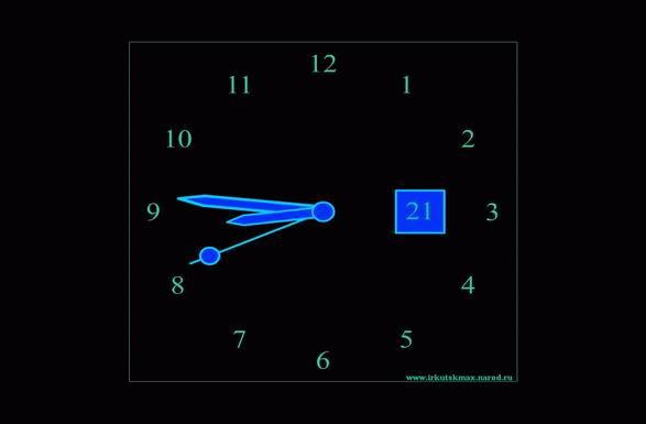 стрелочные часы онлайн - фото 3