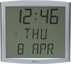 Цифровые часы на ЖКИ с календарем CristalDate